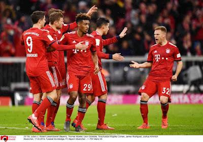 ? Bundesliga : Festival de buts au Bayern Munich, Francfort fait le boulot