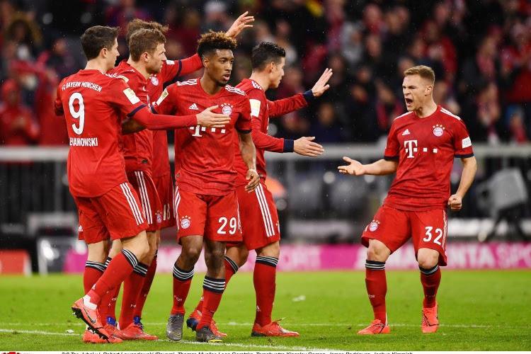 🎥 Bundesliga : le Bayern se fait peur, les clubs des Diables Rouges se portent bien