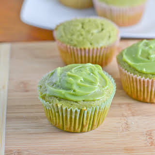 Green Tea Cupcake.