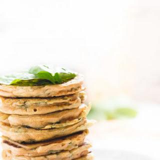 Lentil Spinach Pancakes.