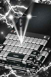 Black and White Emoji Keyboard - náhled