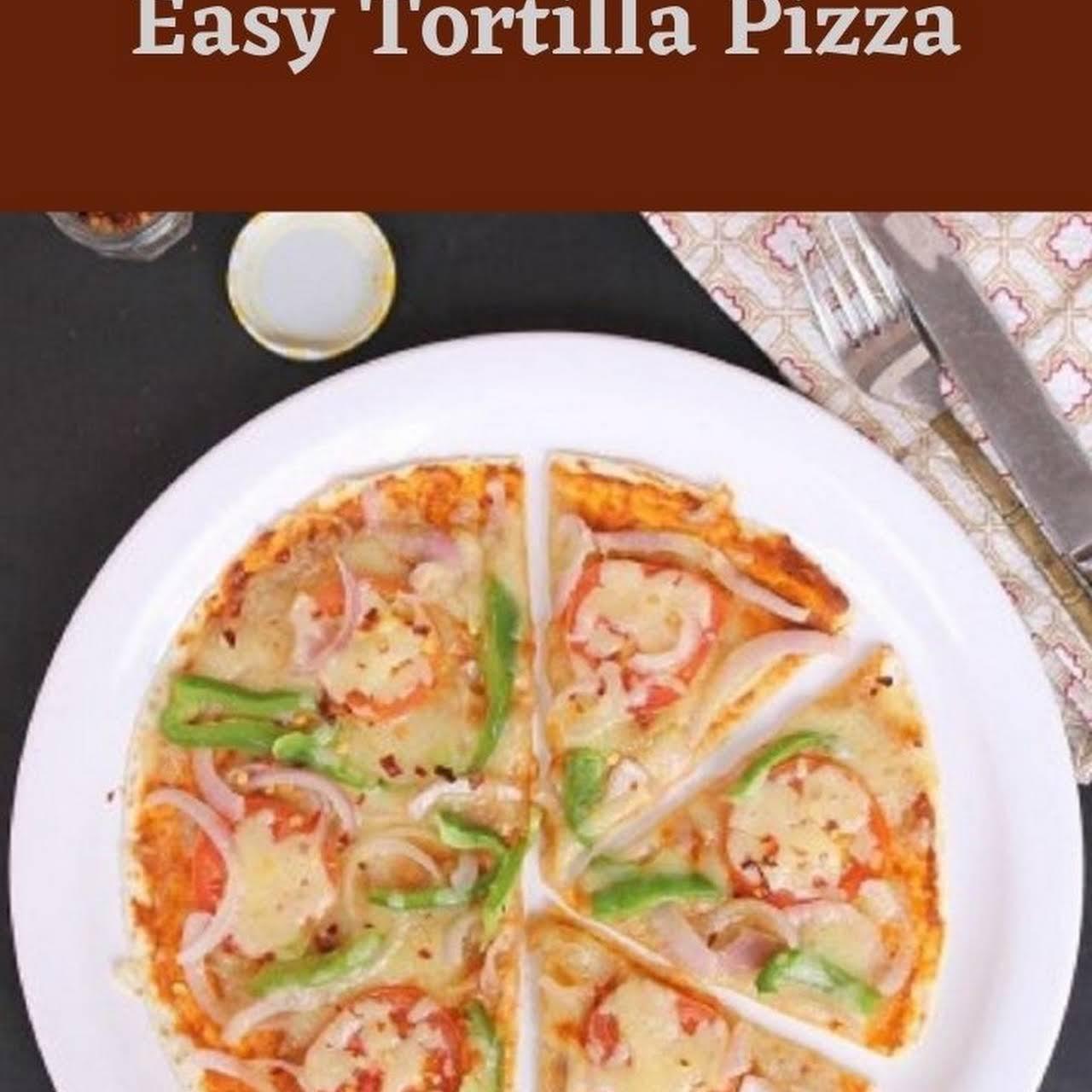 10 Best Healthy Tortilla Pizza Recipes Yummly