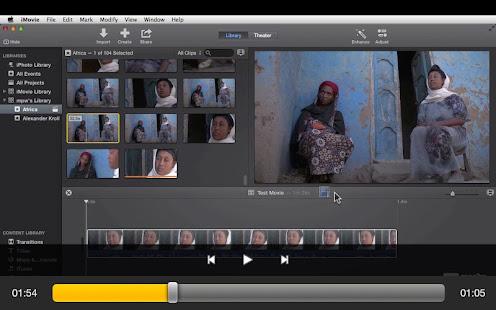 Intro Course For iMovie