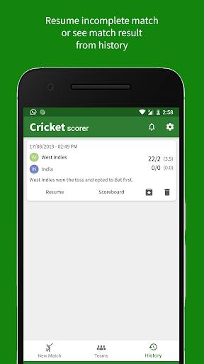 Cricket Scorer filehippodl screenshot 5