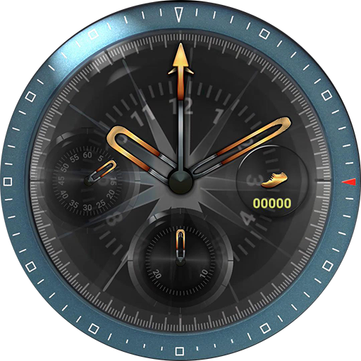 Knight's Flame watch face