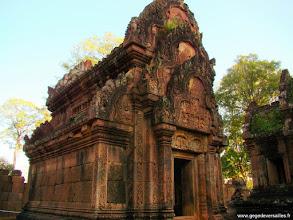 Photo: #010-Le temple hindouiste de Banteay Srei