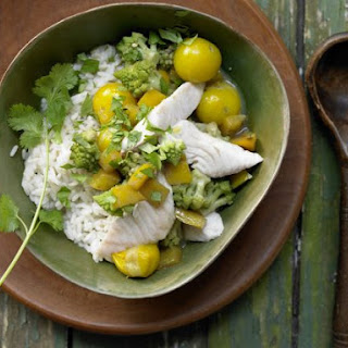 Green Fish Curry.