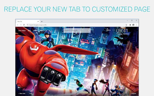 Big Hero Wallpaper HD Big Hero 6 New Tab
