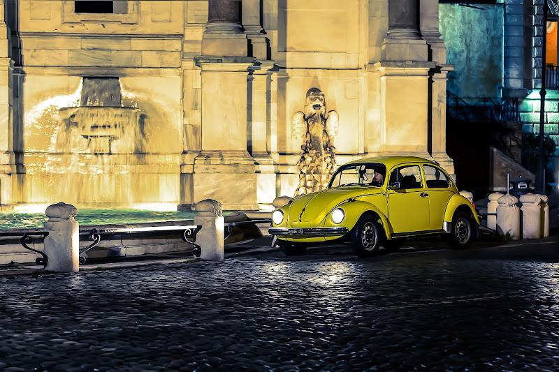 Yellow beetle di Tindara