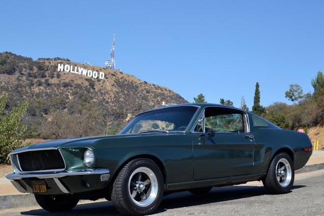 1968 Mustang Fastback (Bullitt) Hire CA