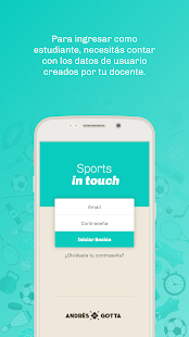 Sports in touch - náhled