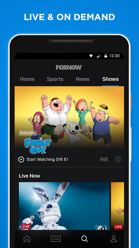 FOX NOW: Live & On Demand TV, Sports & Movies screenshots