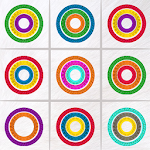 Noughts And Noughts White - New Match Color Rings Icon