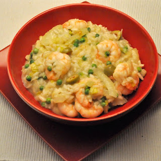 Shrimp and Fennel Risotto.