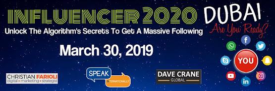 Influencer 2020 Dubai