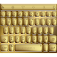 Theme TouchPal Solid Gold
