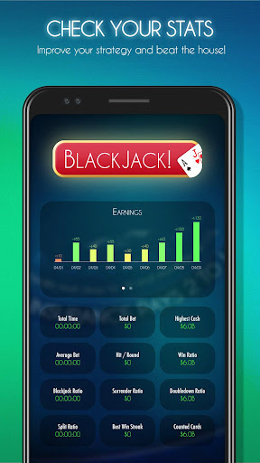 Blackjack! u2660ufe0f Free Black Jack Casino Card Game 1.7.0 screenshots 3