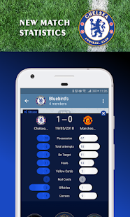 Chelsea FC Official Keyboard 6