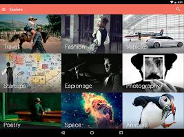 Screenshot of Issuu: A world of magazines