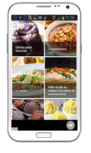 Recettes de cuisine faciles android apps on google play for Cuisine google translate