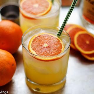 Limoncello and Orange Spritzer