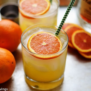 Limoncello and Orange Spritzer.