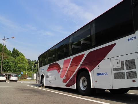 西鉄高速バス「桜島号」 6020 えびのPAにて その2