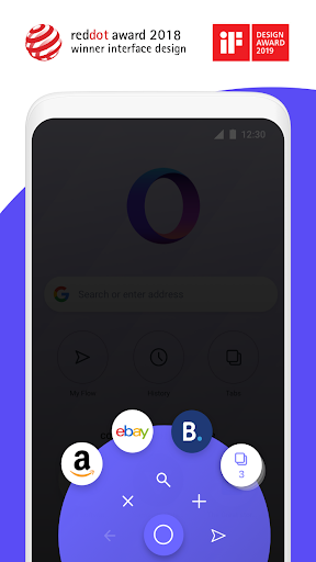Opera Touch: the fast, new web browser 1.22.3 screenshots 2