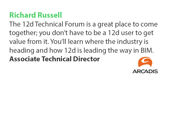 12d Technical Forum Testimonial Richard Russell Arcadis