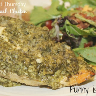 Crock Pot Pesto Spinach Chicken Recipe