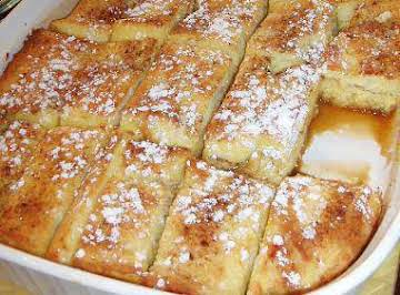 Mouth Watering French Toast Bake