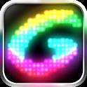 Glowing -create fun animations icon