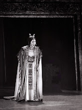 """Photo: Ortrun Wenkel  als Amneris in """"Aida"""" beim Savonlinna-Festival in Finnnland  Andras Miko / Leif Segerstam"""