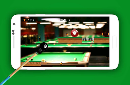 Billiard 8 Ball Jump