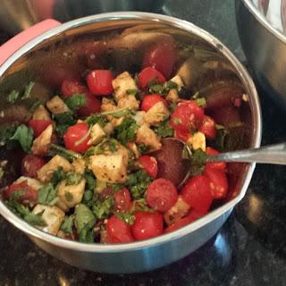 Mozzarella, Tomato + Basil Salad
