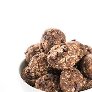 Chocolate Peanut Butter Protein Balls.