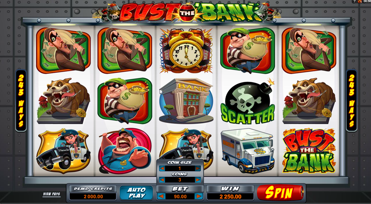 Bust the Bank Slots Machine Review
