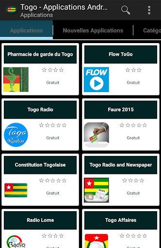 Applications togolais