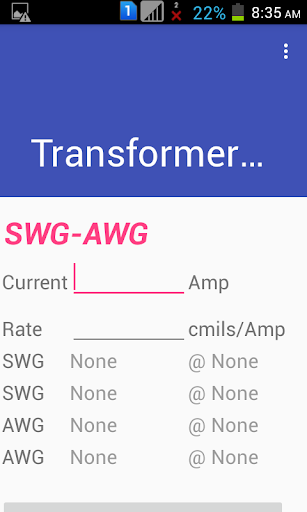Transformer winding calculator apk download apkpure transformer winding calculator screenshot 6 greentooth Gallery