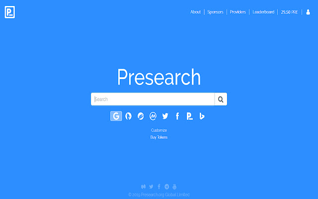 Get Paid When You PreSearch!
