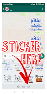 Sticker islamic moslem for WhatsApp WAStickerApps Download For Android 2