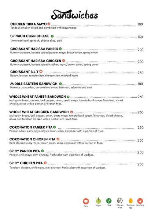 Dcrepes Cafe menu 3