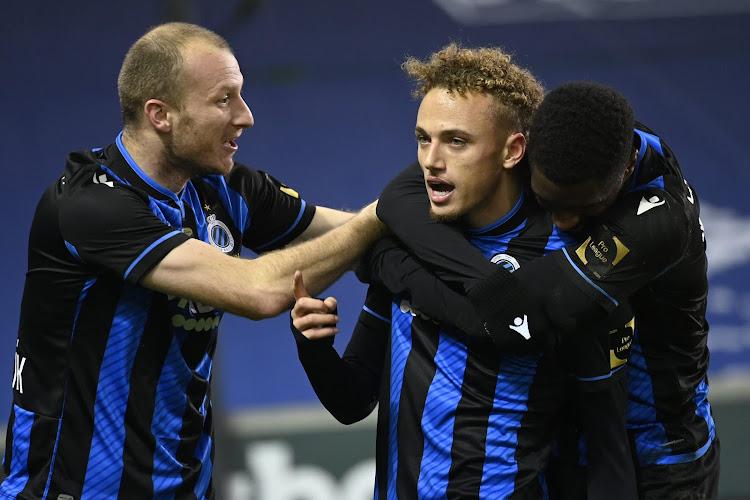 Club Brugge zet stug Kortrijk opzij en behoudt de leidersplaats dankzij acrobatische Noa Lang