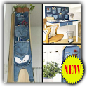 DIY Recycled Jeans Ideas icon