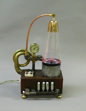 Photo: steampunk plasma lava lamp
