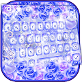 Purple Rose Keyboard Theme