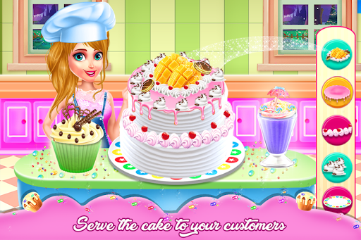 Doll Cake Bake Bakery Shop - Cooking Flavors 1.0.0 screenshots 3