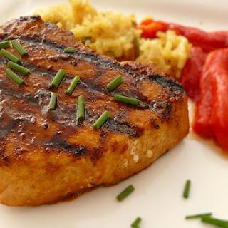 Red Curry Tuna Steaks.