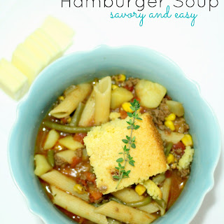 Easy and Savory Hamburger Soup