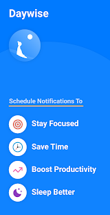 Daywise: Schedule Notifications. Be calm & focused Screenshot